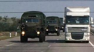 Verwirrung um ukrainischen Beschuss russischer Militärfahrzeuge