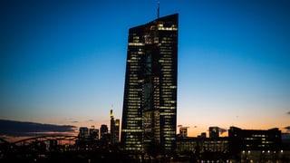 EZB setzt lockere Geldpolitik fort