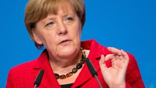 Trump: Merkels Politik ist «verrückt»