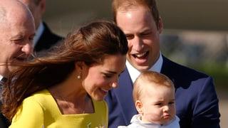 Prinz William und Herzogin Kate erwarten zweites Kind