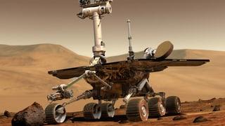 Mars-Rover «Opportunity» fährt immer weiter