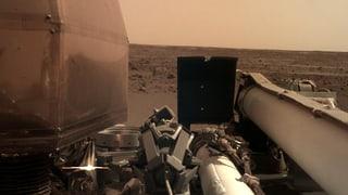 Marsroboter «InSight» schickt erstes Bild