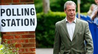 EU-Gegner preschen bei britischen Gemeindewahlen vor
