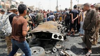 Bombenterror im Irak fordert über 90 Tote