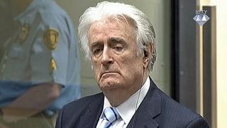 40 Jahre Haft für Kriegsverbrecher Karadzic