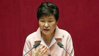 Südkoreas Präsidentin bietet ihren Rücktritt an