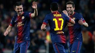 Barcelona glanzlos im Halbfinal
