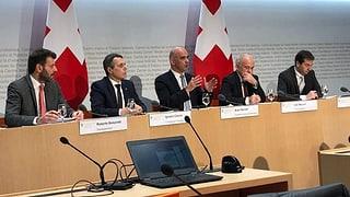 Bundesrat zum Rahmenabkommen – das Protokoll zum Nachlesen
