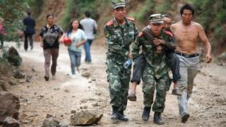 Beben in China fordert immer mehr Opfer