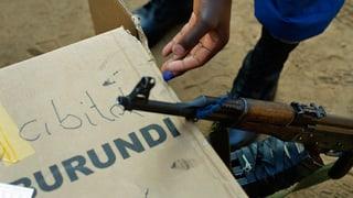 Schweiz blockiert Gelder aus Burundi
