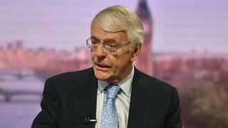 John Major fordert eine Brexit-Pause