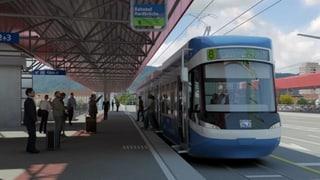 Freie Fahrt für das Tram über die Hardbrücke
