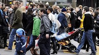 Schweizer Bevölkerung wächst weiter – aber langsamer