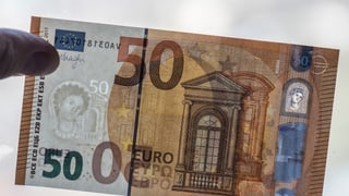 Der neue 50-Euro-Schein ist da