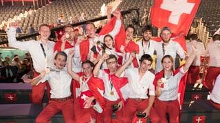 Die Schweiz steht bei der Nationalwertung an den Berufsweltmeisterschaften auf Platz 2