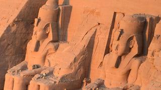 Ein Schweizer entdeckt ein Weltwunder im Wüstensand