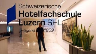 Luzerner Hotelfachschule baut um und wird grösser (Artikel enthält Audio)