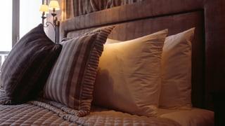 Ina sbrinzla speranza: Dapli letgs chauds en hotels grischuns