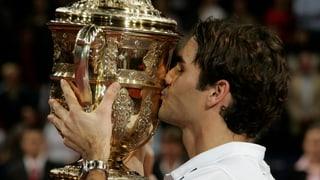 20 Jahre Federer an den Swiss Indoors