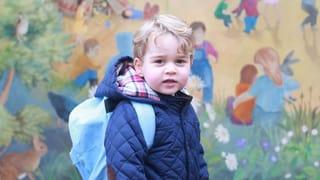 Ein grosser Tag: Prinz George geht jetzt in den Kindergarten