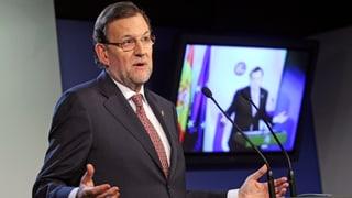 Vorwürfe gegen Spaniens Regierungschef Rajoy «riesiger Unsinn»