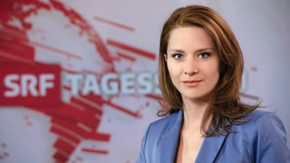 «Tagesschau»: Wasiliki Goutziomitros vertritt Andrea Vetsch