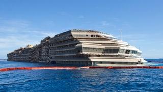 Costa Concordia wird im Juni verschrottet