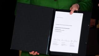 185 Seiten kurz erklärt: Der deutsche Koalitionsvertrag