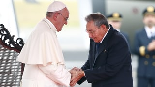 Papst fordert «Freiräume» in Kuba