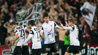 FC Aarau steigt auf