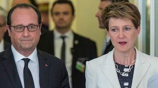 Hollande zu Besuch – Das Protokoll zum Nachlesen