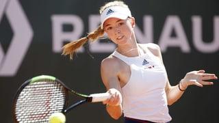 La Grischuna Simona Waltert surprendentamain en segunda runda