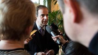 «Dieses Verhalten ist für mich inakzeptabel»: CVP-Präsident Gerhard Pfister nimmt Stellung zu den Stalking-Vorwürfen gegen seinen Vize.