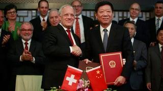 Freihandelsvertrag mit China kommt nicht vors Volk