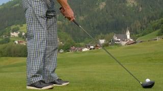 Golf Sagogn Schluein en la miseria