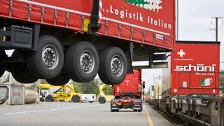 «Jetzt müssen die Güter auf die Schiene»