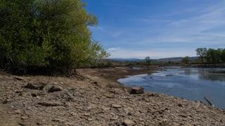 Dürres Land in Kalifornien