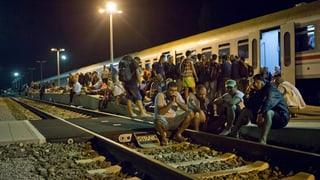 Die Schweiz verstärkt ihr Engagement in der Flüchtlingskrise