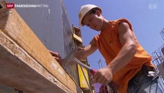 Baubranche kämpft gegen Lehrlingsmangel