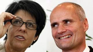 Yvonne von Deschwanden und Ueli Amstad wollen nicht mehr