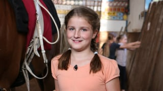 Ramona braucht Vertrauen zum Pferd