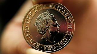 Lächelnde Queen für das Portemonnaie der Briten