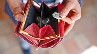 Wie das Geld in der Schweiz verteilt ist