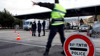 Wegen der Terrorbedrohung haben mehrere EU-Länder längere Zeitlimits für Kontrollen an den Binnengrenzen verlangt.