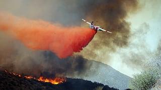 So werden Waldbrände bekämpft