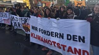 «Wir fordern den Klimanotstand»