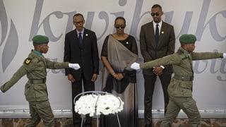 Ruanda gedenkt des Völkermords im eigenen Land