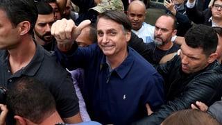 Rechtspopulist Bolsonaro siegt klar