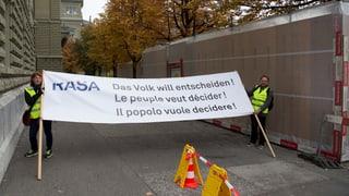 Rasa-Initiative wird zurückgezogen