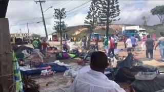 Sicherheitskräfte an Grenze zu Venezuela aufgerüstet